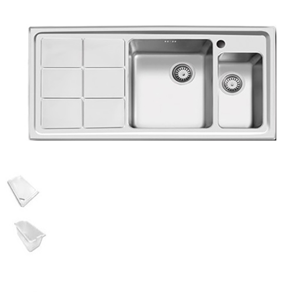 سینک ظرفشویی اخوان توکار کد 310S