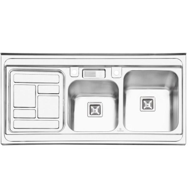 سینک ظرفشویی پرنیان استیل روکار