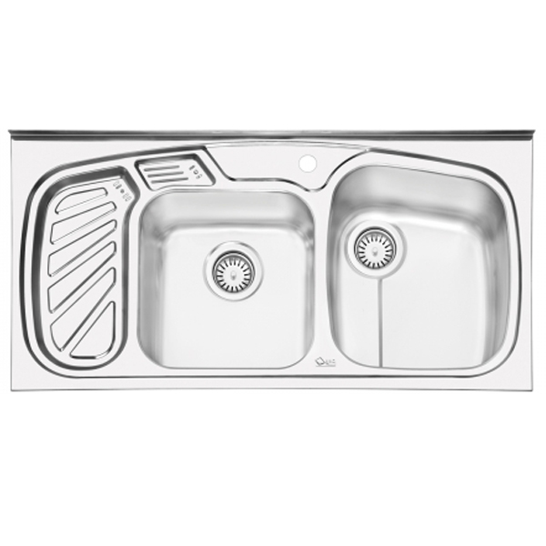 سینک ظرفشویی ایلیا استیل روکار
