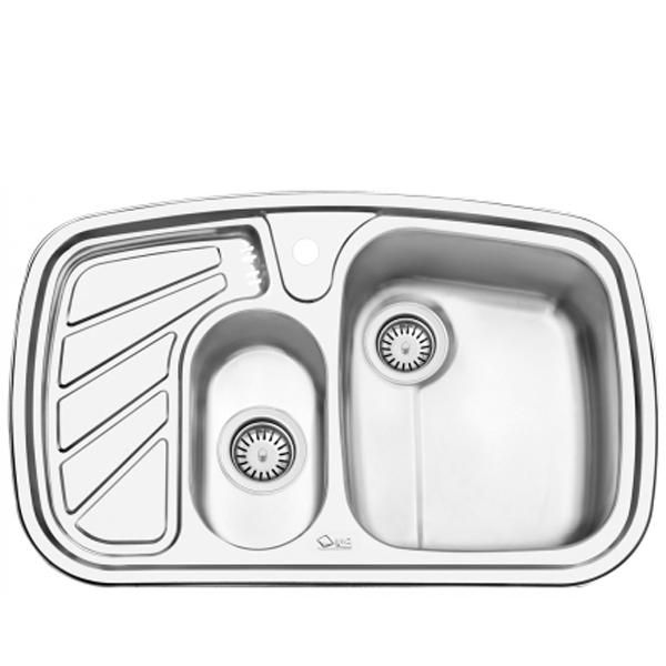 سینک ظرفشویی ایلیا استیل توکار